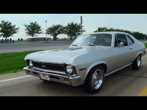 1969 Chevrolet Nova SS 396 Muscle Car Burnout