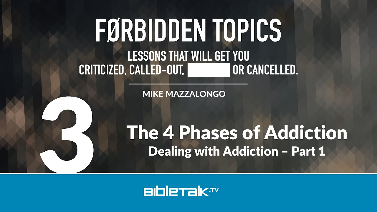 3. The 4 Phases of Addiction