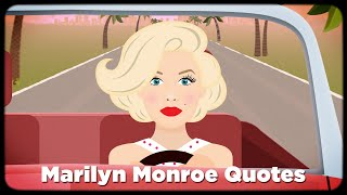 Marilyn Monroe Quotes | Short Bio + 5 Animated Quotes