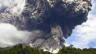Erupcion del Volcan Tungurahua (1-Feb-2014)