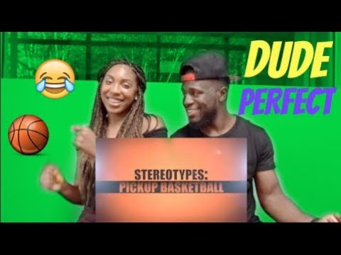 Pickup Basketball Stereotypes REACTION (видео)