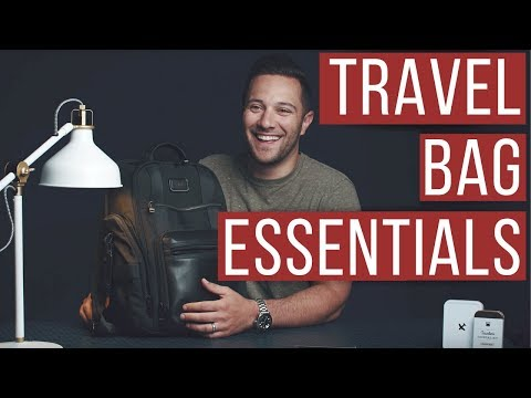 MEN'S TRAVEL BAG ESSENTIALS (WHAT'S IN MY BAG?) VINCENZO LANDINO