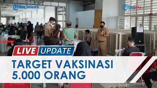 Dukung Percepatan Herd Immunity, Vaksinasi Massal di Stadion Pakansari Bogor Targetkan 5 Ribu Orang