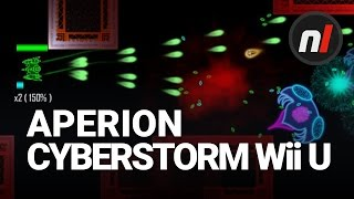 Twin-Stick Shooting in Cyberspace | Aperion Cyberstorm on Wii U
