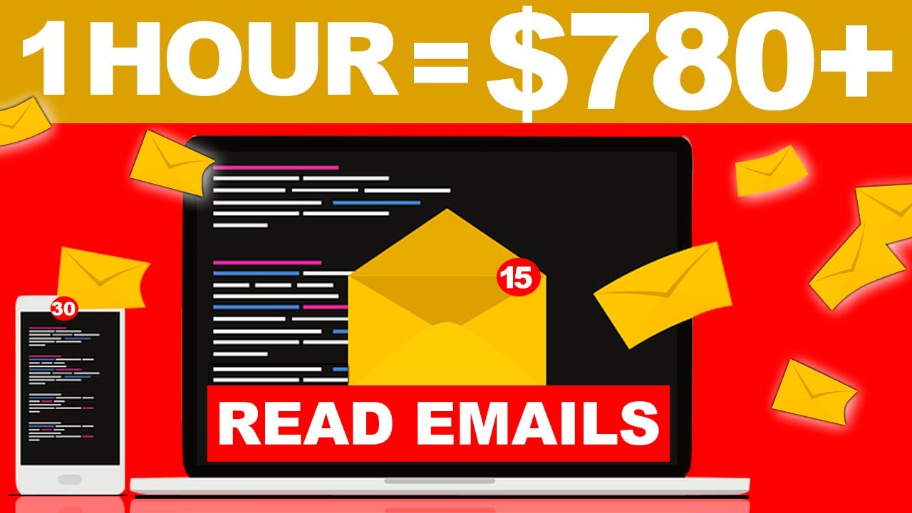 Earn $780.00+ in 1 Hour By Reading Emails! - FREE Make Money Online   Branson Tay thumbnail