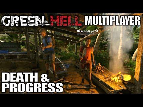 Death & Progress | Green Hell Multiplayer Gameplay | E03