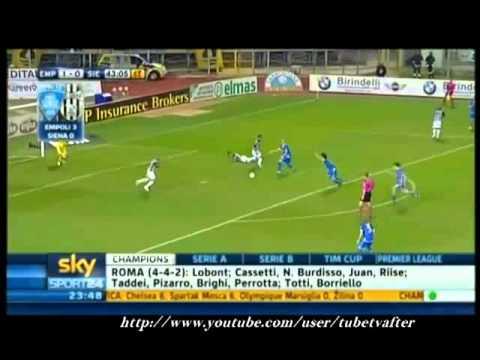 Empoli Siena 3-0  2010-2011