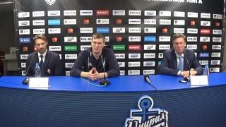 Пресс-конференция после матча «Адмирал»–«Слован»