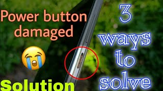 Power button Not Working 📴 | 3 Simple Ways to Power ON your mobile📱in TAMIL