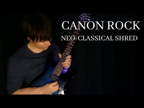 Classical Music on an electric guitar!