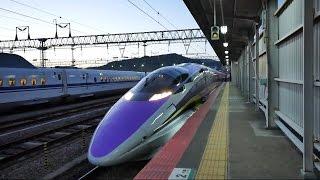 博多南線・山陽新幹線こだま730号エヴァンゲリオン新幹線500系V2