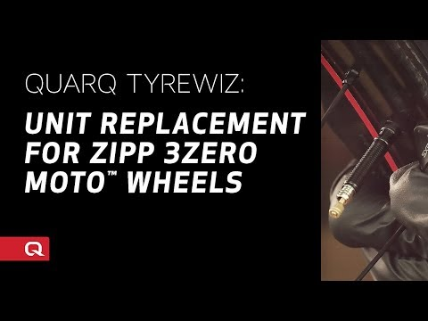 QUARQ: TyreWiz Unit Replacement for ZIPP 3Zero MOTO™ Wheels
