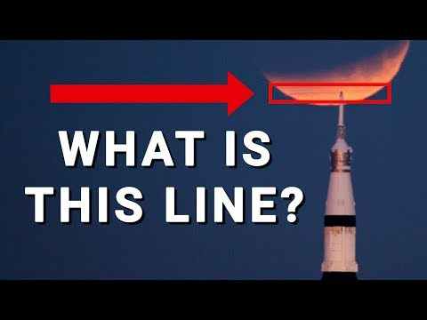 WHAT IS THIS LINE? (on my Super Blue Blood Moon Photo) – Smarter Every Day 188
