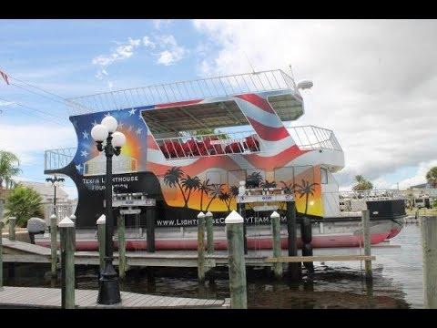 Custom Houseboat video