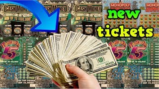 WE SPENT $100 IN LOTTERY TICKETS & WON THIS MUCH! _____