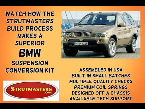 2003-2006 Mercedes Benz E320 Front Air Suspension Conversion Kit Build