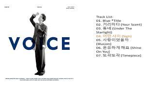 온유 (ONEW) – VOICE – The 1st Mini Album