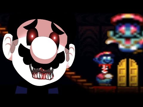 DON'T PLAY THIS MARIO HORROR GAME!!! [GAME.BPS] Scary Super Mario.exe Horror Game