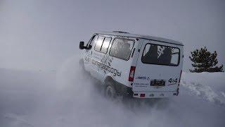 Соболь 4X4 (Баргузин) 22177 снежные испытания