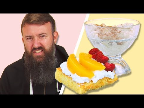 Irish People Taste Test Mexican Desserts