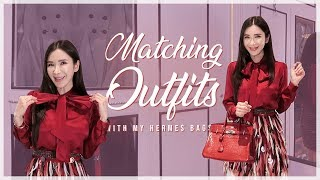 MATCHING OUTFITS WITH MY HERMES BAGS | JAMIE CHUA