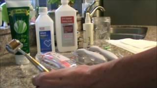 Skin Pinning - Skin Needling - Derma Roller - Derma Stamp