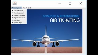 airline reservation system project in java with source code