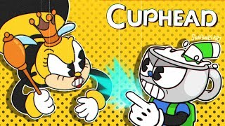 BasicallyIRage- Cuphead #7 Can't Kill This Crazy Bee-tch