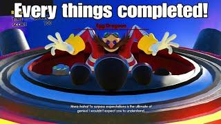 Sonic Forces demo Speedrun & Glitch (PS4)