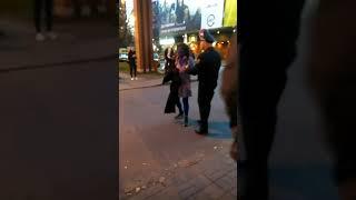 Па Мінску бегала сіняя жанчына