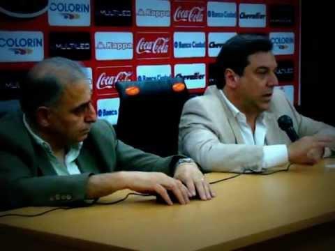 Conferencia de Prensa II Tema Campo de Deportes Jorge Newbery