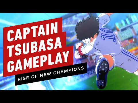 Gameplay de Captain Tsubasa Rise of New Champions Deluxe Edition