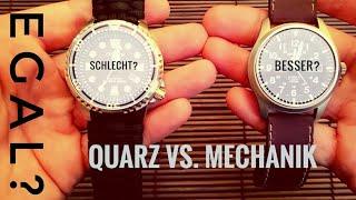 Uhrentalk   Quarz gegen Automatik - was ist besser?
