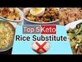 No Rice, No Problem! Top 5 Keto Rice Substitute (Tagalog)