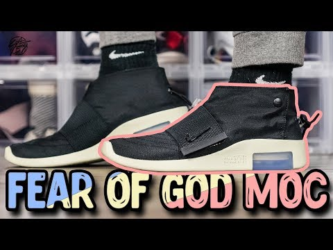 Air Fear of God Moccasin Review!