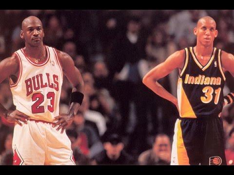 Michael Jordan vs Reggie Miller GOAT Duel 1998 ECF G7 - 50 Pts Combind, CLASSIC!