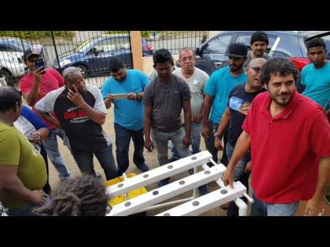 HYDROPONICS TRAINING COURSE IN TRINIDAD - YouTube