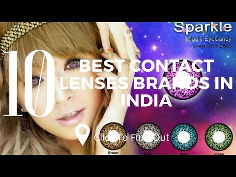Top 10 Best Contact Lenses Brands In India