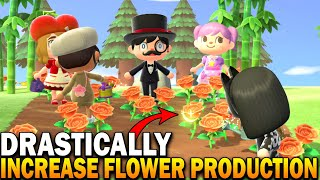 How To Get Hybrid Flowers Faster & Increase Reproduction In Animal Crossing New Horizons
