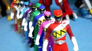10 Dino toys - Power Rangers Dino Charge kyryuger toys