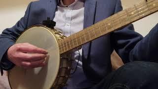 Basic picking pattern 5 string banjo Irish songs