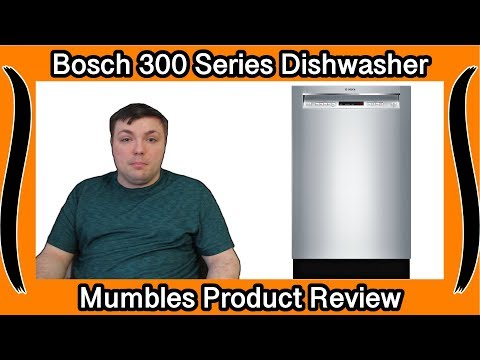 Before You Buy It! – Bosch 300 Series Dishwasher – Mumbles Product Review With Demo!