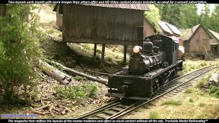 Narrow Gauge Model Railroad, One Of The Best You Will Ever See.