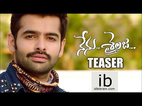 Ram's Nenu Sailaja teaser - idlebrain com