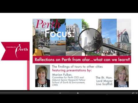 Reflections on Perth from afar - what can we learn?