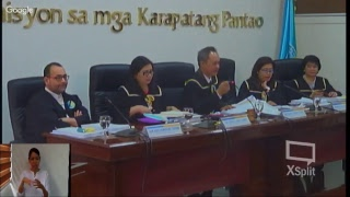Commission on Human Rights of the Philippines' National Inquiry on Climate Change