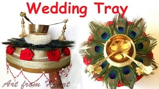 Engagement Ring Plate Decoration Thali Decoration Hmong Video