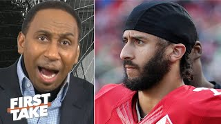Stephen A.'s message to Colin Kaepernick: You better show up! I don't want excuses! | First Take