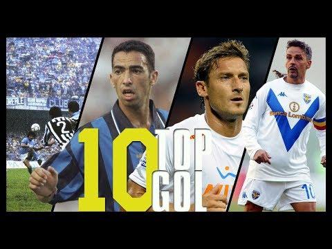 I 10 GOL più BELLI della STORIA in Serie A