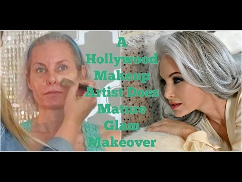 A Hollywood Makeup Artist Does Mature Glam